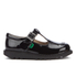 Kickers Kids' Kick T Patent Flat Shoes - Black: Image 1