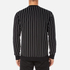 Edwin Men's Classic Crew Sweatshirt - Black Vertical Stripes: Image 3