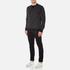 Edwin Men's Classic Crew Sweatshirt - Black Vertical Stripes: Image 4