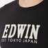 Edwin Men's Logo Type 2 T-Shirt - Black: Image 5