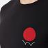 Edwin Men's Red Dot Logo 2 T-Shirt - Black: Image 5