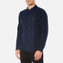 Edwin Men's Labour Shirt - Navy/Black: Image 2