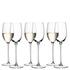 LSA White Wine Glasses - 340ml (Set of 6): Image 1