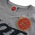 Hot Tuna Men's Palm Graphic T-Shirt - Grey Marl: Image 3