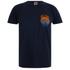 Hot Tuna Men's Colour Fish T-Shirt - French Marine: Image 1