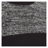 Brave Soul Men's Roland Marl Panel Jumper - Black: Image 3