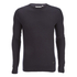 Brave Soul Men's Warren Roll Edge Jumper - Navy: Image 1