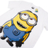 Minions Mens Dave T-Shirt - Wit: Image 2