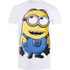 Minions Mens Dave T-Shirt - Wit: Image 1