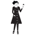 Design Letters Kids' Collection Measurewoman Wallsticker - Black: Image 1