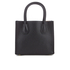 MICHAEL MICHAEL KORS Women's Mercer Mid Messenger Tote Bag - Black: Image 6