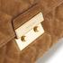 MICHAEL MICHAEL KORS Women's Sloane Large Chain Suede Shoulder Bag - Dark Caramel: Image 4