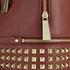 MICHAEL MICHAEL KORS Women's Rhea Zip Mid Stud Backpack - Brick: Image 7