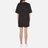 Marc Jacobs Women's T-Shirt Dress with Emblem - Black: Image 3