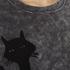 Marc Jacobs Women's Long Sleeve Crew Neck Cat Sweatshirt - Grey: Image 5