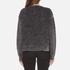 Marc Jacobs Women's Long Sleeve Crew Neck Cat Sweatshirt - Grey: Image 3