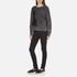 Marc Jacobs Women's Long Sleeve Crew Neck Cat Sweatshirt - Grey: Image 4