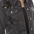 Marc Jacobs Women's Shrunken Denim Jacket - Black: Image 5