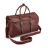 Ted Baker Men's Shalala Leather Holdall Bag - Tan: Image 3