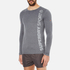 Superdry Men's Gym Sport Runner Long Sleeve Top - Grey Grit: Image 2