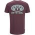 Animal Men's Classico Back Print T-Shirt - Mauve Purple: Image 2