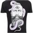 Rum Knuckles Men's Snake Beard T-Shirt - Black: Image 3