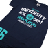 Varsity Team Players Men's University Athletic T-Shirt - Navy: Image 3
