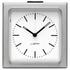 LEFF Amsterdam Block Alarm Clock - Silver Station: Image 1