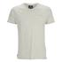 Threadbare Men's Charlie Plain V-Neck T-Shirt - Ecru Marl: Image 1