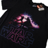 Star Wars Mens Galaxy Force T-Shirt - Zwart: Image 2