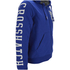 Crosshatch Men's Clarkwell Borg Lined Zip Through Hoody - Mazarine Blue: Image 4