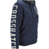 Crosshatch Men's Clarkwell Borg Lined Zip Through Hoody - Dress Blue: Image 4