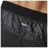 adidas Men's Adizero Split Running Shorts - Black: Image 5