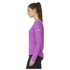 adidas Women's Sequencials Climalite Running Long Sleeve T-Shirt - Purple: Image 2