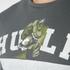 adidas Men's Hulk Training T-Shirt - Green: Image 3