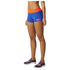 adidas Women's Stella Sport Workout Training Shorts - Blue: Image 2