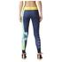 adidas Women's Stella Sport Logo Training Tights - Blue: Image 3