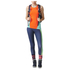 adidas Women's Stella Sport Logo Training Tights - Blue: Image 7