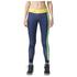 adidas Women's Stella Sport Logo Training Tights - Blue: Image 1