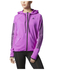 adidas Women's Full Zip Training Gym Hoody - Purple: Image 7