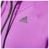adidas Women's Full Zip Training Gym Hoody - Purple: Image 4