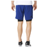 adidas Men's A2G Two-in-One Training Shorts - Blue: Image 3