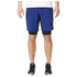 adidas Men's A2G Two-in-One Training Shorts - Blue: Image 1