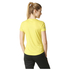 adidas Women's Sequencials Climalite Running T-Shirt - Yellow: Image 3