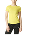 adidas Women's Sequencials Climalite Running T-Shirt - Yellow: Image 7