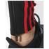 adidas Men's Response Long Running Tights - Black/Red: Image 6