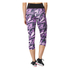 adidas Women's High-Rise 3/4 Workout Training Tights - Purple: Image 2