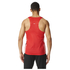 adidas Men's Adizero Running Singlet - Red: Image 3