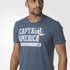 adidas Men's Captain America Training T-Shirt - Blue: Image 2