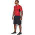 Under Armour Men's HeatGear Armour Printed Short Sleeve Compression T-Shirt - Red/Black: Image 4